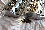 Kaasep-38 Aluminum Engine Cylinder Heads BEFORE Chrome-Like Metal Polishing and Buffing Services / Resoration Services