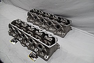 Dodge Viper Aluminum Cylinder Heads BEFORE Chrome-Like Metal Polishing and Buffing Services / Restoration Services