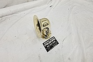 Custom Brass Horn / Air Horn AFTER Chrome-Like Metal Polishing and Buffing Services - Horn Polishing - Brass Polishing