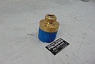 Custom Brass Horn / Air Horn BEFORE Chrome-Like Metal Polishing and Buffing Services - Horn Polishing - Brass Polishing