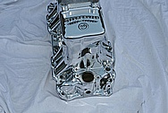 Offenhauser V8 Aluminum Turbo Thrust Intake Manifold AFTER Chrome-Like Metal Polishing and Buffing Services