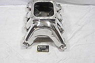 GM Aluminum Intake Manifold AFTER Chrome-Like Metal Polishing and Buffing Services / Restoration Services