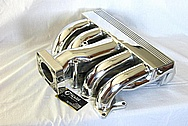 Ford Aluminum Intake Manifold AFTER Chrome-Like Metal Polishing and Buffing Services / Restoration Services