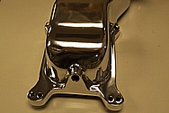 Offenhauser Aluminum Intake Manifold Top AFTER Chrome-Like Metal Polishing and Buffing Services
