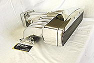 Ford Mustang Aluminum V8 Intake Manifold AFTER Chrome-Like Metal Polishing and Buffing Services