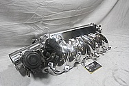 1993-1998 Toyota Supra 2JZ-GTE Aluminum Intake Manifold AFTER Chrome-Like Metal Polishing and Buffing Services
