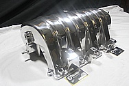 Hemi 6.1L Rough Cast Aluminum V8 Intake Manifold AFTER Chrome-Like Metal Polishing and Buffing Services / Restoration Services