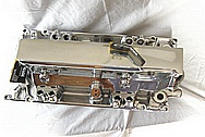 Ram Jet Performance Parts PFI GM Aluminum Intake Manifold AFTER Chrome-Like Metal Polishing and Buffing Services / Restoration Services