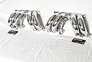 Chevrolte Corvette Aluminum Upper Intake Manifold Runners AFTER Chrome-Like Metal Polishing and Buffing Services / Restoration Services