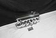 Toyota Supra 2JZ-GTE Aluminum Intake Manifold AFTER Chrome-Like Metal Polishing and Buffing Services / Restoration Services