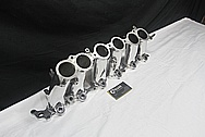 Toyota Supra 2JZ-GTE Aluminum Lower Intake Manifold AFTER Chrome-Like Metal Polishing and Buffing Services / Restoration Services