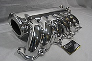Toyota Supra Aluminum Intake Manifold AFTER Chrome-Like Metal Polishing and Buffing Services / Restoration Services
