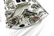 V8 Engine Aluminum Intake Manifold AFTER Chrome-Like Metal Polishing and Buffing Services / Restoration Services