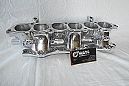 Mitsubishi 3000GT Aluminum Lower Intake Manifold AFTER Chrome-Like Metal Polishing and Buffing Services
