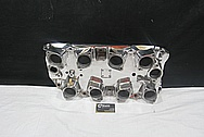 Aluminum Blower Intake Manifold AFTER Chrome-Like Metal Polishing and Buffing Services / Restoration Services