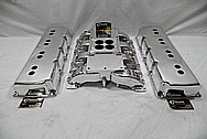 Mod Man Aluminum Intake Manifold AFTER Chrome-Like Metal Polishing and Buffing Services / Restoration Services