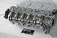 1996 Mitsubishi 3000GT Aluminum 6 Cylinder Intake Manifold AFTER Chrome-Like Metal Polishing and Buffing Services / Restoration Services