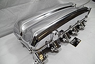 2008 Dodge Viper GTS Aluminum V10 Intake Manifold AFTER Chrome-Like Metal Polishing and Buffing Services / Restoration Services