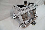 Indy Performance Aluminum Intake Manifold AFTER Chrome-Like Metal Polishing and Buffing Services / Restoration Services