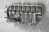 Dodge Hemi 6.1L Aluminum Intake Manifold AFTER Chrome-Like Metal Polishing and Buffing Services / Restoration Services