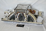 World Products Aluminum Intake Manifold AFTER Chrome-Like Metal Polishing and Buffing Services / Restoration Services
