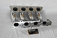 Aluminum, Rough Cast Intake Manifold AFTER Chrome-Like Metal Polishing and Buffing Services / Restoration Services