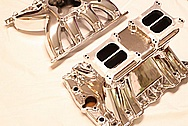 V8 Aluminum Intake Manifolds AFTER Chrome-Like Metal Polishing and Buffing Services
