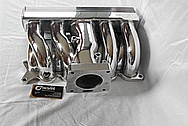 Ford Mustang Aluminum Rough Cast V8 Engine Intake Manifold AFTER Chrome-Like Metal Polishing and Buffing Services / Restoration Services