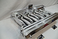 Dodge Viper Gen 2 Aluminum V10 Intake Manifold AFTER Chrome-Like Metal Polishing and Buffing Services / Restoration Services