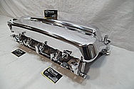 Aluminum V8 Intake Manifold AFTER Chrome-Like Metal Polishing and Buffing Services / Restoration Services and Custom Painting Services