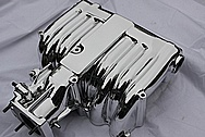 METAL POLISHING - FORD MUSTANG COBRA INTAKE MANIFOLD CHROME POLISHING
