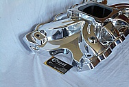 Aluminum V8 Engine Intake Manifold AFTER Chrome-Like Metal Polishing and Buffing Services / Restoration Services