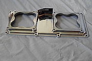 Edelbrock V8 Aluminum Intake Manifold AFTER Chrome-Like Metal Polishing and Buffing Services / Restoration Services
