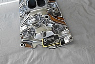V8 Aluminum Intake Manifold AFTER Chrome-Like Metal Polishing and Buffing Services / Restoration Services