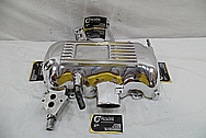 Mustang Cobra Aluminum Intake Manifold AFTER Chrome-Like Metal Polishing and Buffing Services / Restoration Services