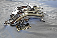 Aluminum Intake Manifold for Mozda RX7 AFTER Chrome-Like Metal Polishing and Buffing Services / Restoration Services