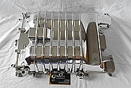 Aluminum Intake AFTER Chrome-Like Metal Polishing and Buffing Services / Restoration Services