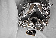 Aluminum Edelbrock Intake Manifold AFTER Chrome-Like Metal Polishing and Buffing Services / Restoration Services