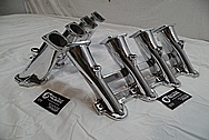 Aluminum Intake Manifold Runners AFTER Chrome-Like Metal Polishing and Buffing Services / Restoration Services