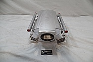 GM Aluminum Race Intake Manifold AFTER Chrome-Like Metal Polishing and Buffing Services / Restoration Services