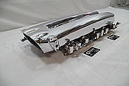 2005 Dodge Viper Aluminum Intake Manifold AFTER Chrome-Like Metal Polishing and Buffing Services / Restoration Services