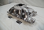 Aluminum Intake Manifold AFTER Chrome-Like Metal Polishing and Buffing Services / Restoration Services