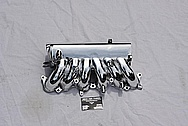 Toyota Supra 2JZGTE Aluminum Intake Manifold AFTER Chrome-Like Metal Polishing and Buffing Services
