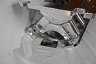 Small Block Ford Aluminum Intake Manifold AFTER Chrome-Like Metal Polishing and Buffing Services / Restoration Services