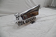 Aluminum 4 Cylinder Intake Manifold AFTER Chrome-Like Metal Polishing and Buffing Services / Restoration Services