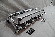 2003 - 2006 SRT-10 Dodge Viper Aluminum Upper Intake Manifold AFTER Chrome-Like Metal Polishing and Buffing Services / Restoration Services