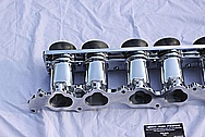 Toyota Supra 2JZGTE Veilside Aluminum Intake Manifold AFTER Chrome-Like Metal Polishing and Buffing Services
