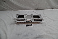 Weiand Aluminum Intake Manifold AFTER Chrome-Like Metal Polishing - Aluminum Polishing