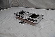 Weiand Aluminum Intake Manifold AFTER Chrome-Like Metal Polishing - Aluminum Polishing