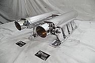 Aluminum Sheet Metal Intake Manifold AFTER Chrome-Like Metal Polishing - Aluminum Polishing